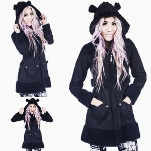Abby Dawn Tough Crowd Teddy coat by Avril Lavigne